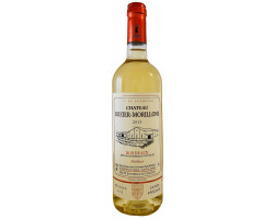 Château ROZIER-MORILLONS - Bordeaux Moelleux - Vignobles Crachereau - 2015 - Blanc