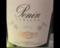 Château Penin Tradition - Château Penin - 2016 - Rouge