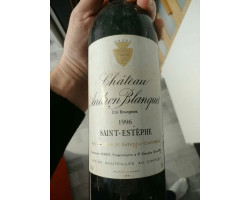 Château Andron Blanquet - Château Andron Blanquet - 1996 - Rouge
