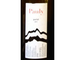 Purist - riesling - AXEL PAULY - 2016 - Blanc