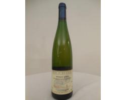 Pinot Gris Vendanges Tardives - Domaine Aline et Rémy Simon - 2003 - Blanc