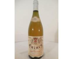 Quincy - Domaine des Bruniers - Jérôme de la Chaise - 1998 - Blanc