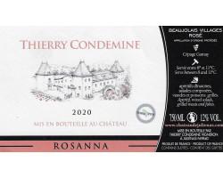 Rosanna - Château de Juliènas - 2020 - Rosé