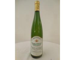 Gewurztraminer Grand Cru Hatschbourg - Serge & Gérard Hartmann - 2000 - Blanc