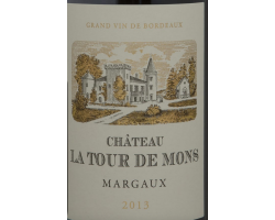 Château La Tour de Mons - Château La Tour de Mons - 2017 - Rouge