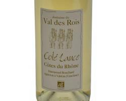 Coté Lance - Domaine du Val des Rois - 2019 - Blanc