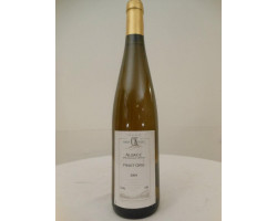 PInot gris Vendanges Tardives - Domaine Koehly - 1996 - Blanc