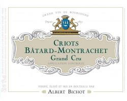 Criots-Bâtard-Montrachet Grand Cru - Albert Bichot - 2017 - Blanc