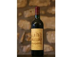 Vin Rouge, Château De Ricaud - Vignobles Dourthe - Château de Ricaud - 2000 - Rouge