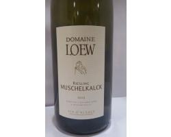 Riesling Muschelkalck - Domaine Loew - 2019 - Blanc