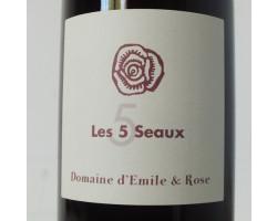 Les 5 Seaux - Domaine d'Émile et Rose - 2018 - Rouge