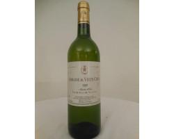 Domaine Du Vieux Chêne - Domaine Du Vieux Chene - 1999 - Blanc