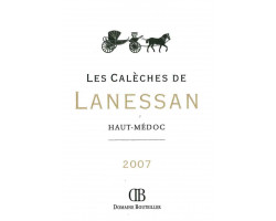 Les Calèches de Lanessan - Château Lanessan - 2007 - Rouge