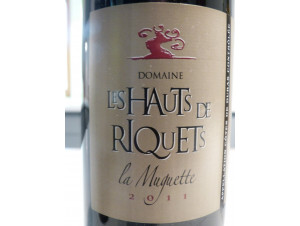 La Muguette - Hauts de Riquets - 2011 - Rouge