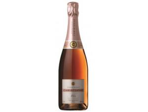 Rosé - Champagne Christophe - Non millésimé - Effervescent