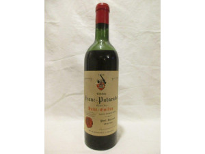 Château Franc Patarabet - Château Franc Patarabet - 1955 - Rouge