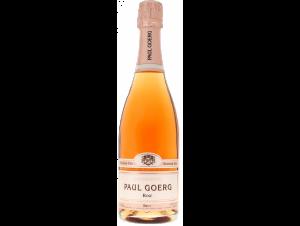Brut Rosé - Premier Cru - Champagne Paul Goerg - Non millésimé - Effervescent