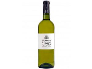 Domaine de la Croix - Bordeaux Blanc Sec (Sauvignon) - Vignobles Arnaud - 2017 - Blanc