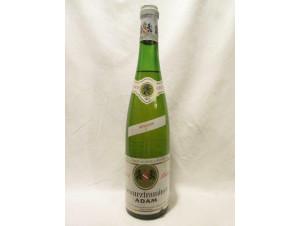 Gewurztraminer Reserve - JEAN BAPTISTE ADAM - 1973 - Blanc