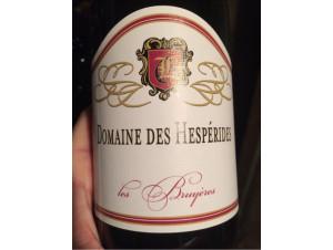 Les Bruyères - Domaine des Hespérides - 2009 - Rouge