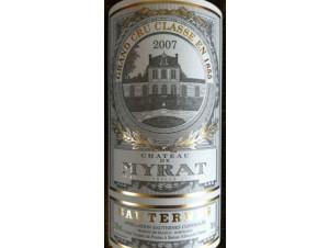 Château de Myrat - Château de Myrat - 2001 - Blanc