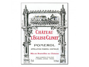 Château l'Eglise Clinet - Château l'Eglise-Clinet - 2007 - Rouge