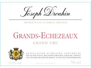 Grands-Echezeaux Grand Cru - Maison Joseph Drouhin - 2017 - Rouge