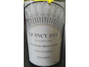 Quincy - Les Domaines Tatin - 2003 - Blanc