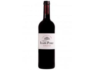 Chateau Frappe Peyrot - Bordeaux Rouge (élevé en fût de chêne) - Vignobles Arnaud - 2016 - Rouge
