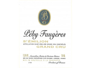 Château Péby Faugères - Château Péby Faugères - 2008 - Rouge