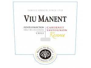 Estate collection reserva - cabernet sauvignon - Viu Manent - 2018 - Rouge