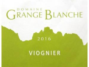 VIOGNER - DOMAINE GRANGE BLANCHE - 2018 - Blanc