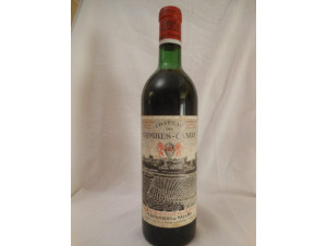 Château Des Combes-canon - château des combes-canon - 1967 - Rouge