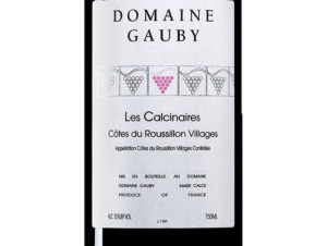 Calcinaires Gauby - Domaine Gauby - 2015 - Rouge