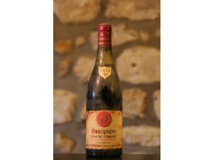 Bourgogne Clos Du Chapitre - Domaine Michel Vidal - 1979 - Rouge