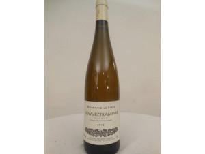Gewurztraminer - Domaine le Fort - 2013 - Blanc