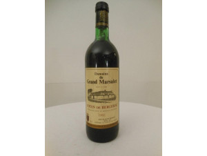 Château Grand Marsalet - Château Grand Marsalet - 1982 - Rouge