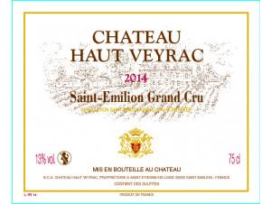 Château Haut Veyrac Magnum - Château Haut Veyrac - 2014 - Rouge