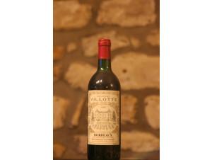 Château Villotte - Château Villotte - 1985 - Rouge