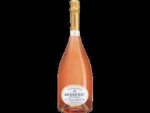 Cuvée des Moines Brut Rosé - Champagne Besserat de Bellefon - Non millésimé - Effervescent