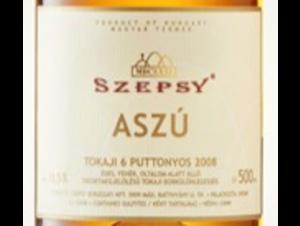 ASZU - SZEPSY - 2008 - Blanc