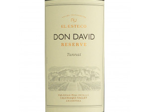 DON DAVID - TANNAT - EL ESTECO - 2017 - Rouge