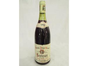 Santenay - Domaine Prieur Brunet - 1982 - Rouge