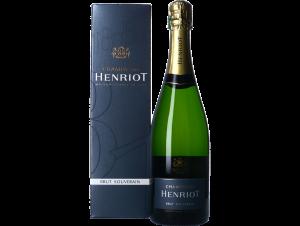 Champagne Henriot Brut Souverain + Etui - Champagne Henriot - Non millésimé - Effervescent