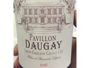 PAVILLON DAUGAY - Château Daugay - 2016 - Rouge