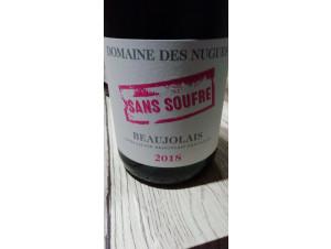 Sans Soufre Beaujolais - Domaine des Nugues - 2019 - Rouge