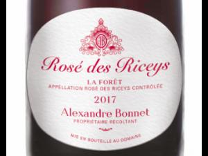ROSE DES RICEYS - Champagne Alexandre Bonnet - 2017 - Rouge
