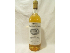 Château Crabitan- Bellevue - Château Crabitan Bellevue - 1996 - Blanc