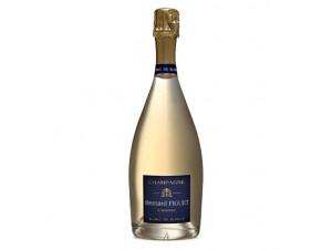 Blanc de blancs - Champagne Bernard Figuet - Non millésimé - Effervescent