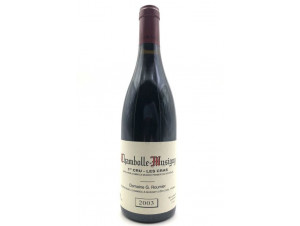 Chambolle Musigny 1er Cru Les Cras - Domaine G. Roumier - 2017 - Rouge